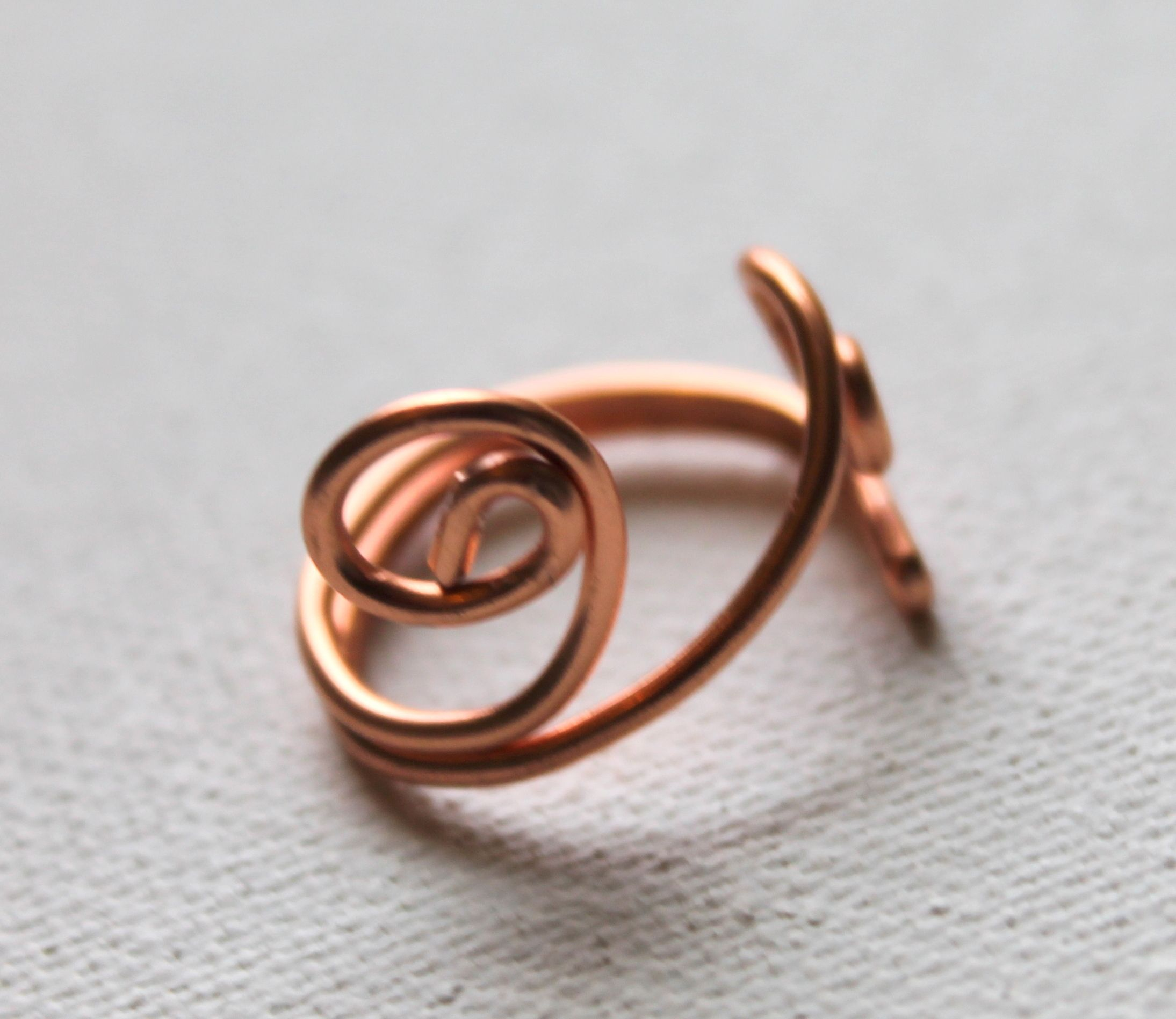 Wire Ring Tutorial | Wire Wrapped Ring Tutorials | Emerging Creatively Expressive Jewelry ...