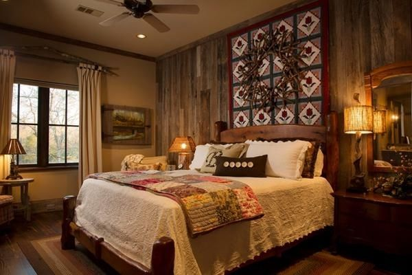 explore rustic bedroom design and more