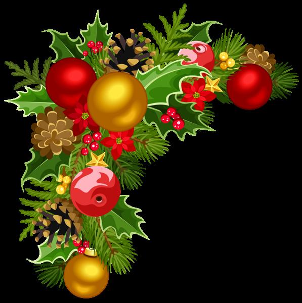Christmas Deco Corner With Christmas Tree Decorations Clipart Christmas Tree Decorations Christmas Decorations Christmas Tree Clipart