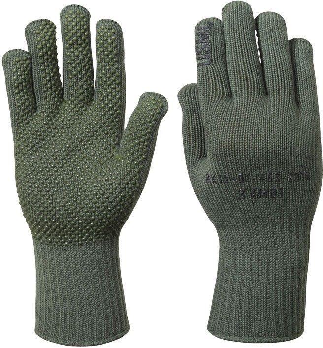 Olive Drab Manzella USMC TS-40 Genuine Military Gloves USA Made ... bbe38fc9d9d