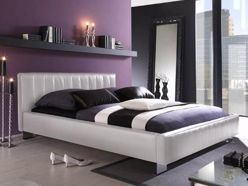 Chambre gris blanc violet recherche google decoration interieure pinterest violets bedrooms and feng shui