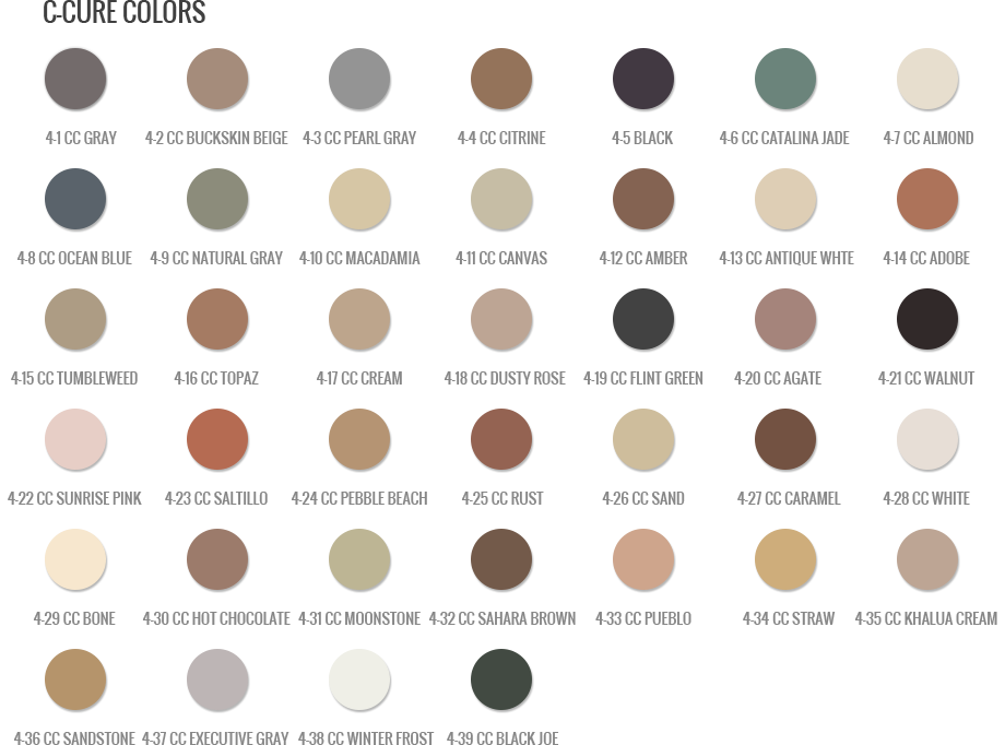 Color Chart Grout Colors Grout Shield Color Chart Grout