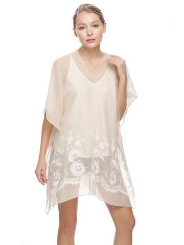 b4aab3eed66 My favorite Beach Cover Up so far this season! These swim cover up's come  in three colors, Beige, Coral and Mint and they all have feature an ivory  ...