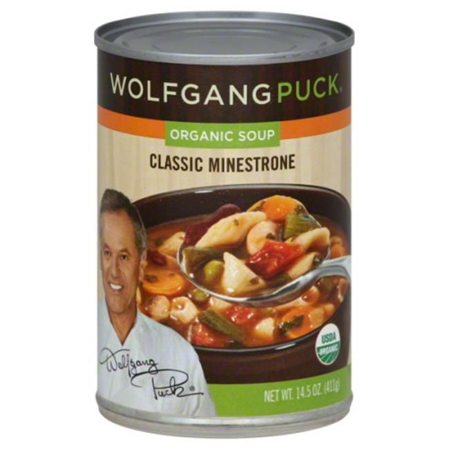 WOLFGANG PUCK SOUP MINESTRONE CLASSIC-14.5 OZ -Pack of 12 ...