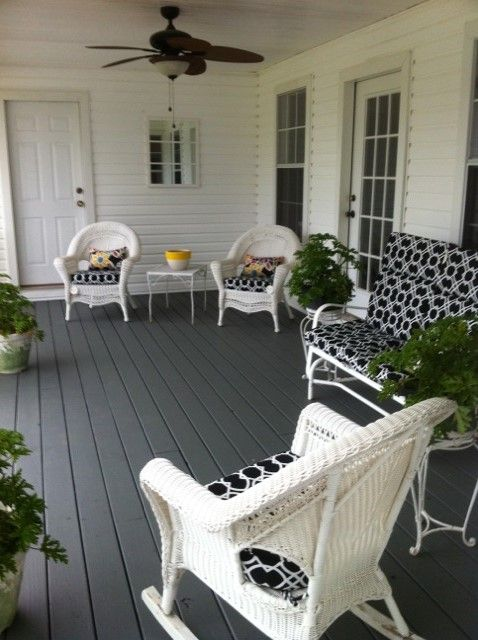 New Deck With Gray, White With Black And Going To Add