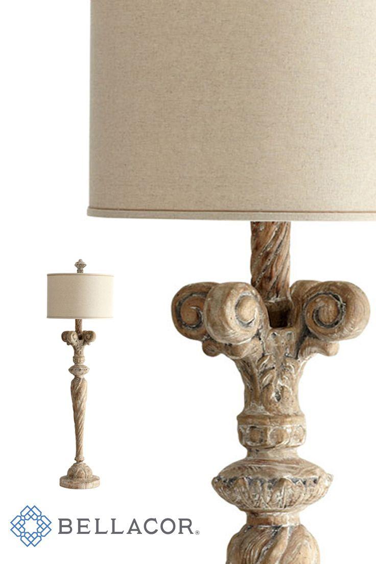 Cyan Design Tyne Limed Gracewood One Light Floor Lamp