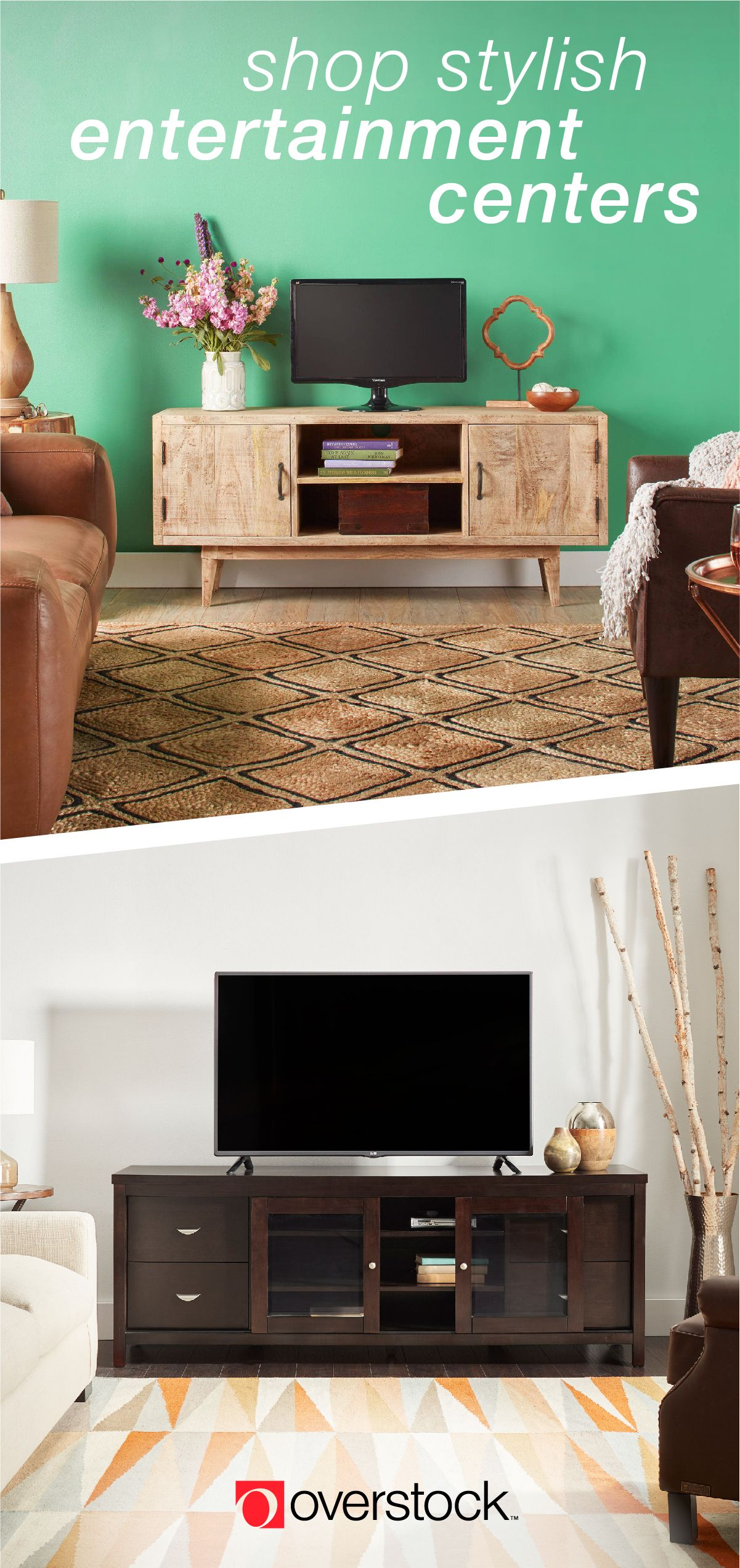 Keep Your Tv Area Looking Fresh And On Trend With An Attractive Entertainment Center That Blends Function A Tv Unit Furniture Design Tv Unit Furniture Tv Stand