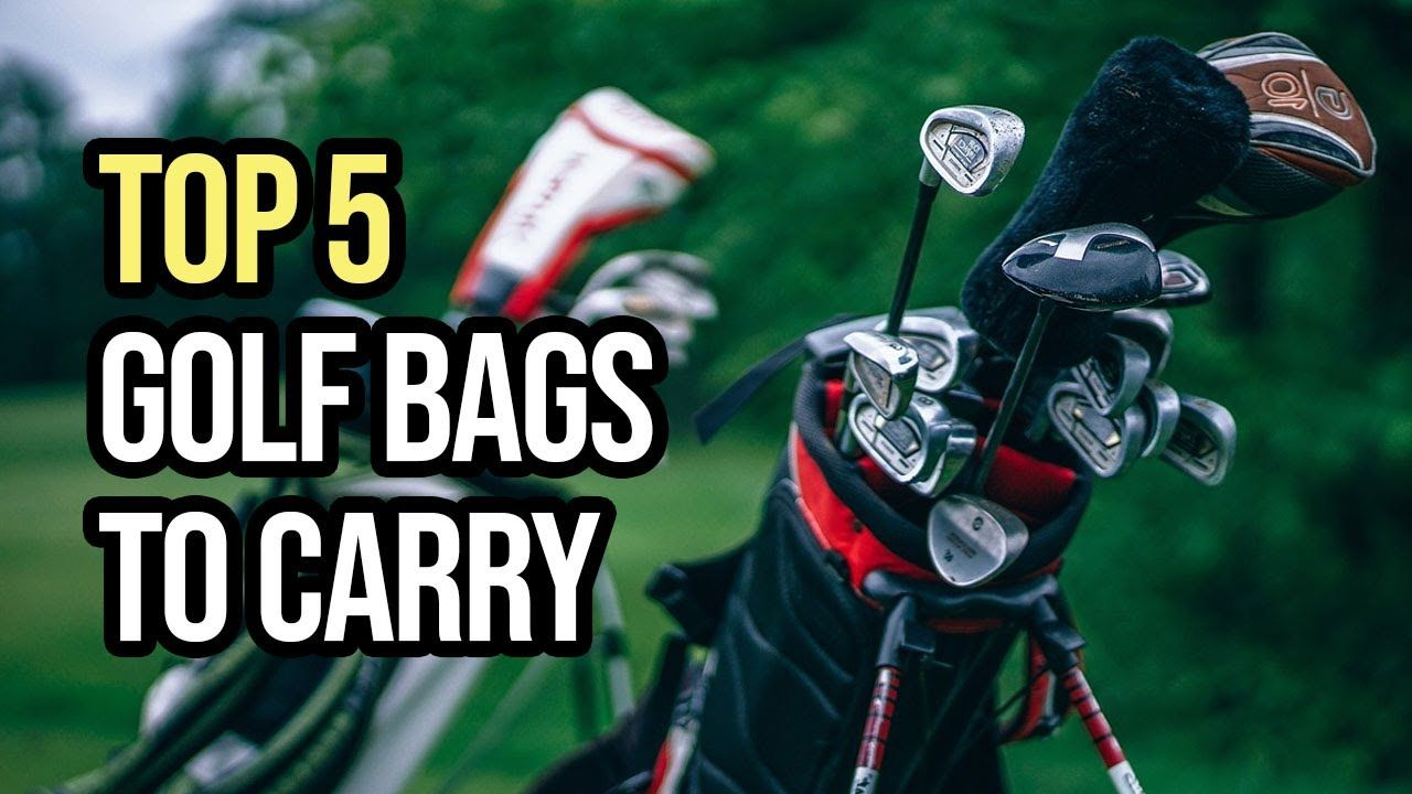 Best Golf Bags To Carry (Top 5 in 2020) in 2020 Golf