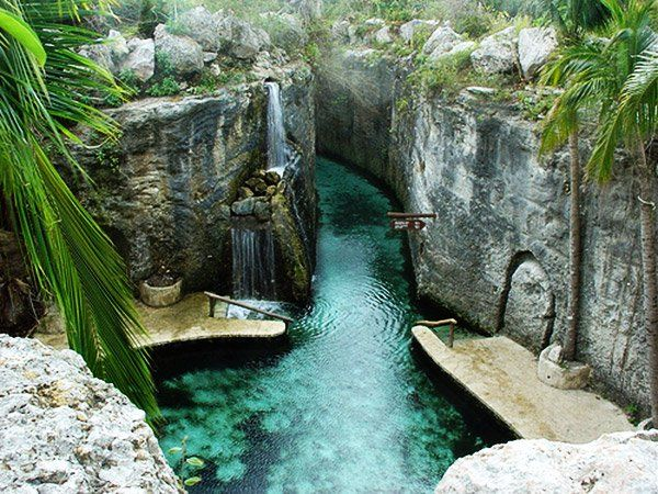 Rios subterrâneos - México