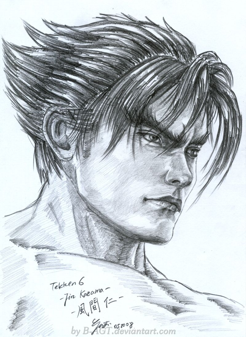 Jin Kazama Tekken by B-AGT.deviantart.com on @deviantART   proyectos ...
