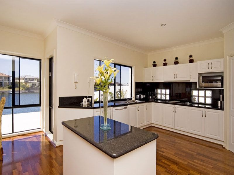 Modern Island Kitchen Designs modern island kitchen design using granite - kitchen photo 342482