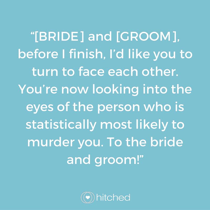 Funny Wedding Speeches Sister Of The Groom: How To End Your Best Man's Speech: 15 Funny And Touching