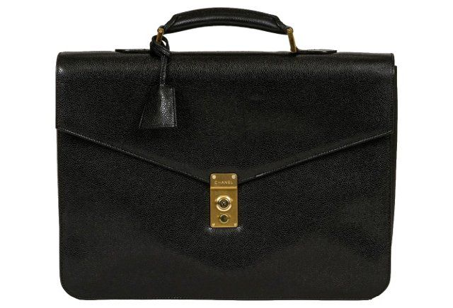 Chanel Caviar Leather Briefcase
