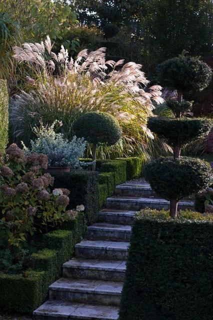 Evening Light Landscape Design Beautiful Gardens Garden Design