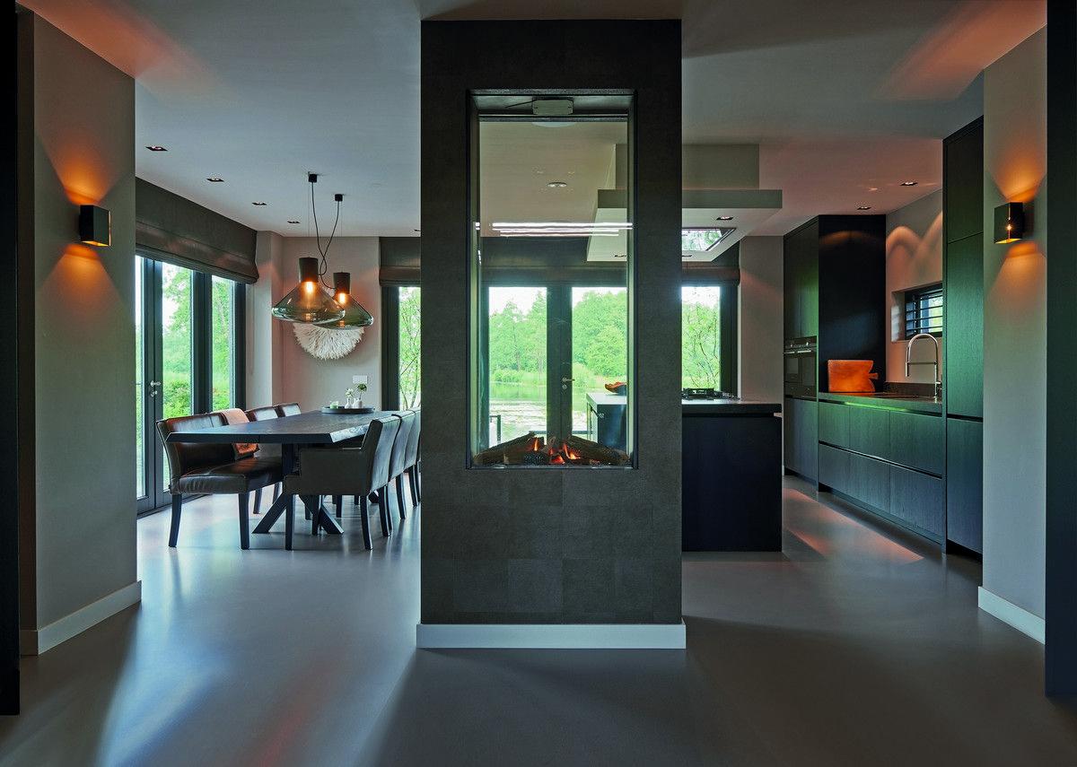 Keuken moderne villa hilversum architectenbureau de vries