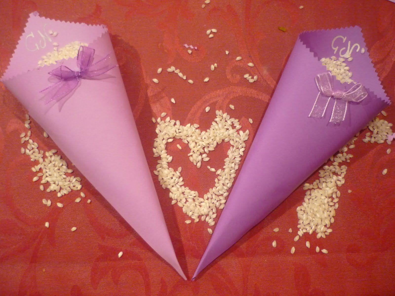 como se hacen los cucuruchos de cartulina para el arroz en una boda buscar con