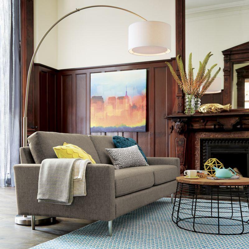 Big Dipper Arc Floor Lamp Affordable Modern Furniture Arc Floor Lamps Nickel Floor Lamp