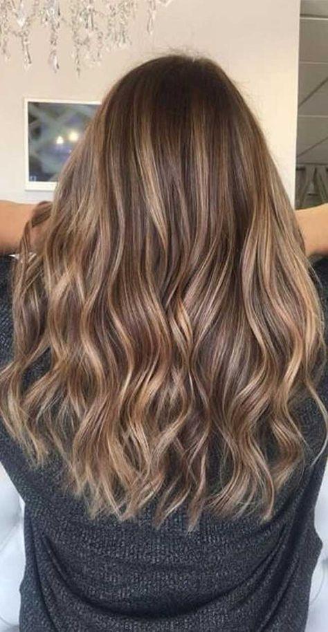 Long Wave Caramel Brown Wig