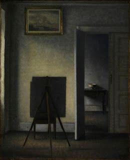 PERSONA E COMUNITA'.: La donna di spalle. Vilhelm Hammershøi.