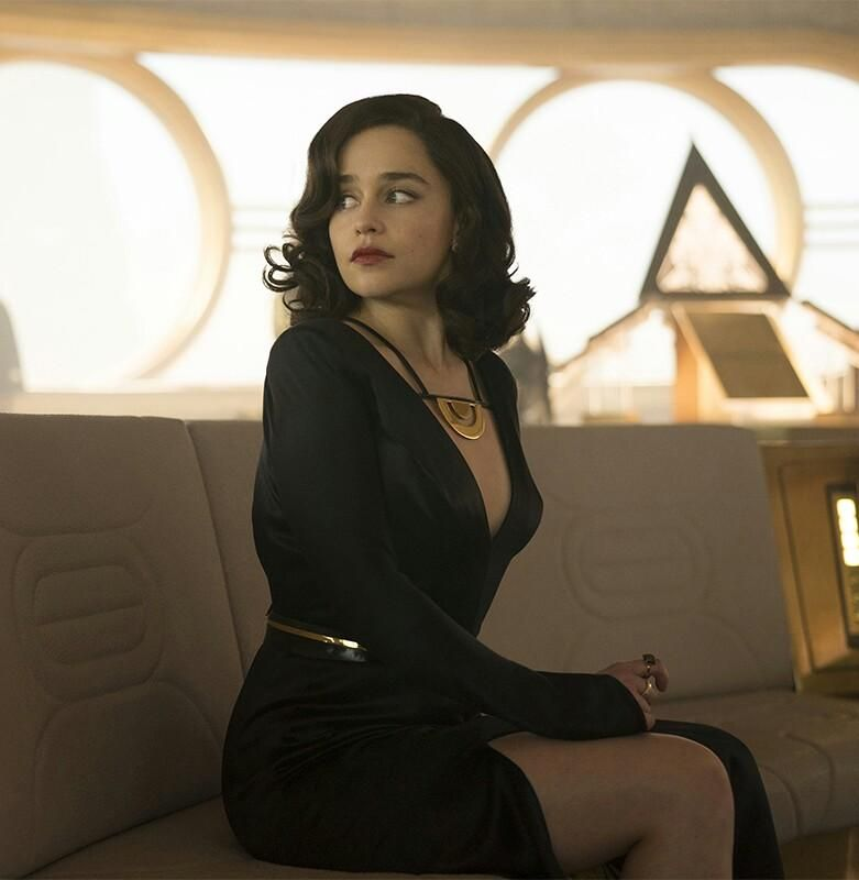 Emilia Clarke Fabulous Style File