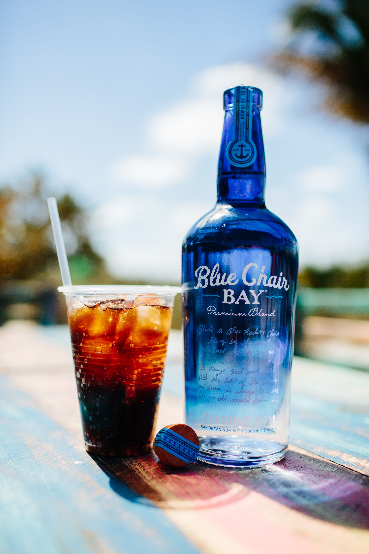PIRATE FLAG // 1.5 oz. Blue Chair Bay® Coconut Rum, diet