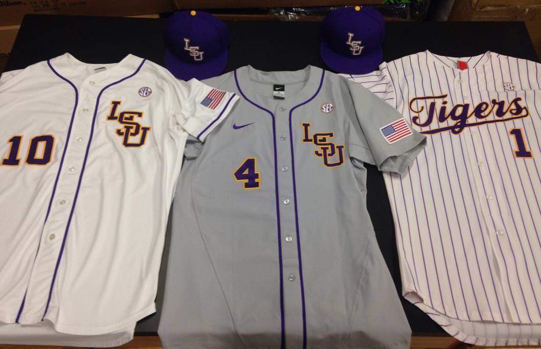 new concept 2fddb 7380c LSU Baseball Jersey | LSU Tigers Baseball | Lsu tigers ...