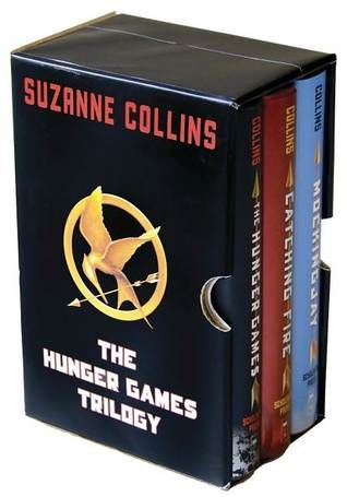 The Hunger Games trilogy. A must-read for every generation. *3 finger salutes in solemn reverence* Thank You Suzanne.