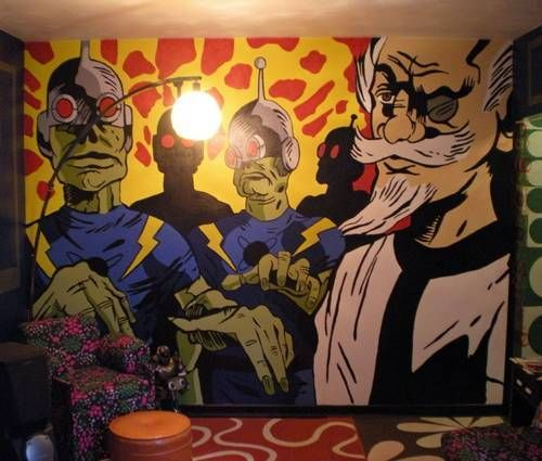 Charming Projector Wall Mural Ideas   Google Search Home Design Ideas