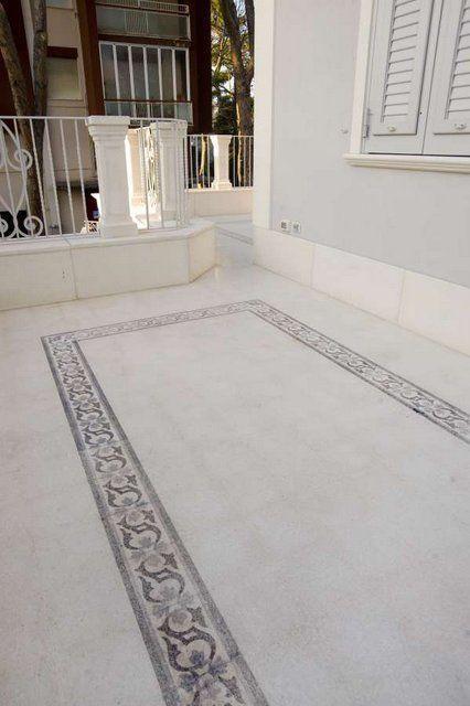 Terrazzo Border Tile For Floors B23 Grandinetti Srl Csempe
