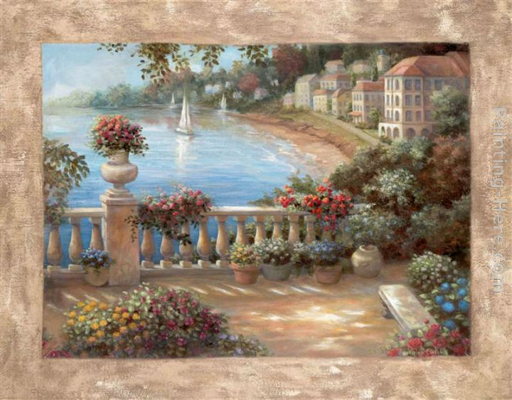 e0597fd38 Vivian Flasch Mediterranean Terrace ii Painting | Art | Painting ...