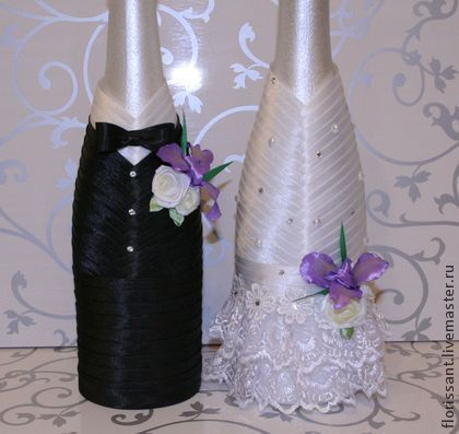 Botellas decoradas para boda manualidades pinterest for Copas decoradas a mano