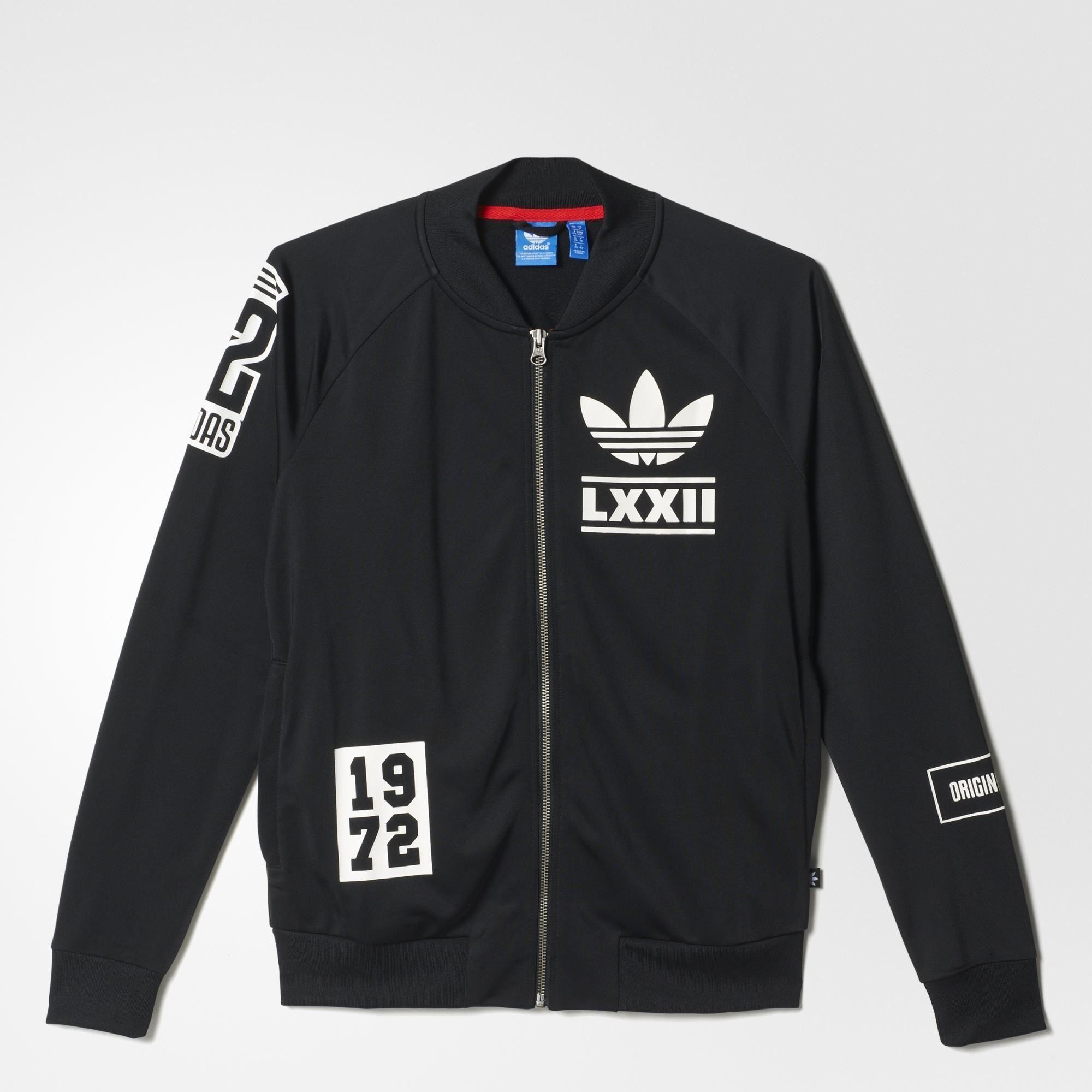 best loved 7a7cc 80459 Veste de survêtement Berlin Logo Badge - noir adidas   adidas France