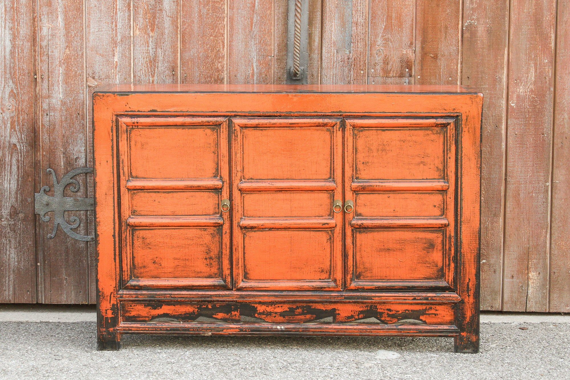 Vintage Cinnabar Mongolian Cabinet Asian Painted Buffet Cabinet Living Room Cabinet Colorful Tv Cabinet Living Room Cabinets Painted Buffet Buffet Cabinet [ 1333 x 2000 Pixel ]