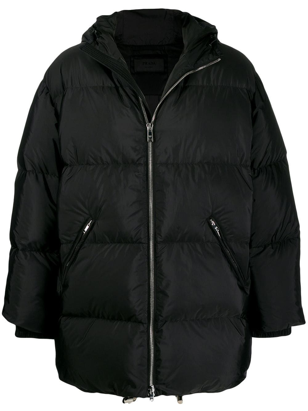 Oversized Padded Coat Padded Coat Prada Puffer Coat [ 1334 x 1000 Pixel ]