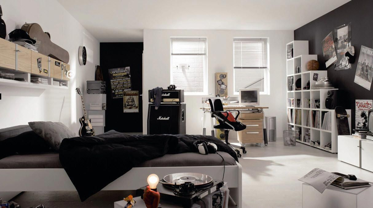 Chambre Ado Rock Rock N Roll And Teenage Grunge Bedroom Coolbedroomideas