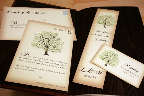 Sample Fall Vintage Book Pocketfold Wedding By Vohandmade On Etsy 3 00