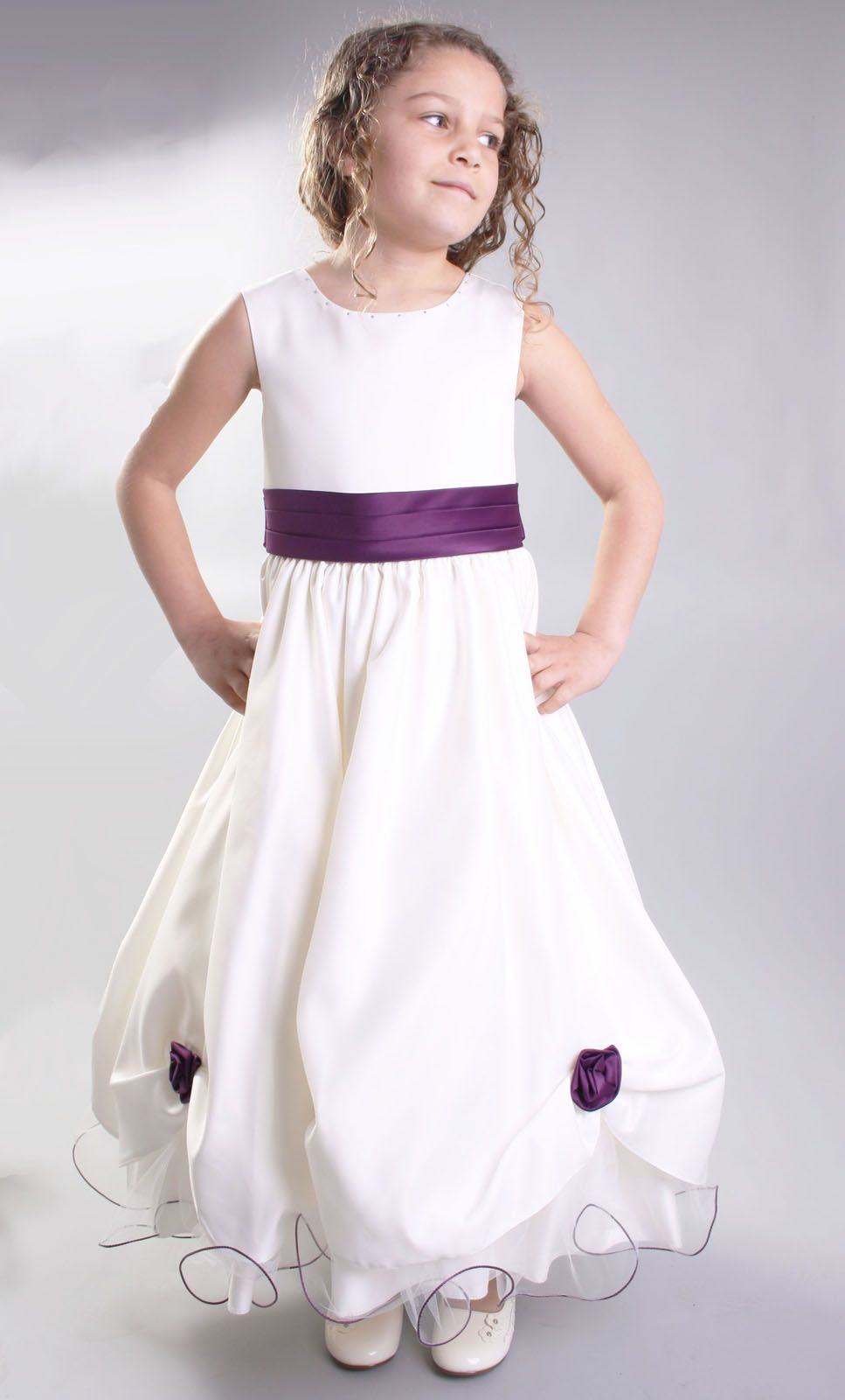 2a692b05bb5 Flower girl dresses cadburys purple bridesmaid dress