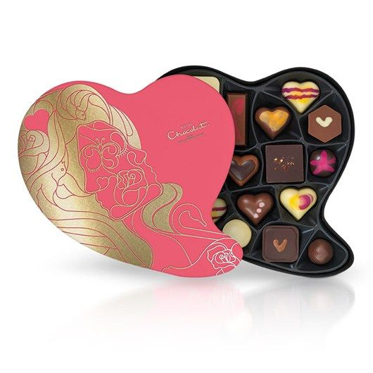 Love and Hugs - Thrill them with a stunning heart-shaped gift box ...
