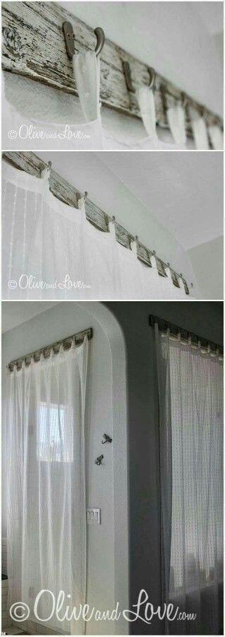 Bathroom Shower Curtains With Reclaimed Wood Stylish Curtain Rod