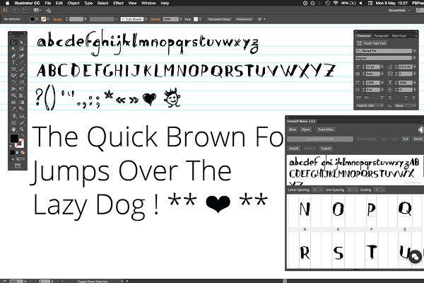 Fontself: Make fonts in Illustrator - Plug-ins