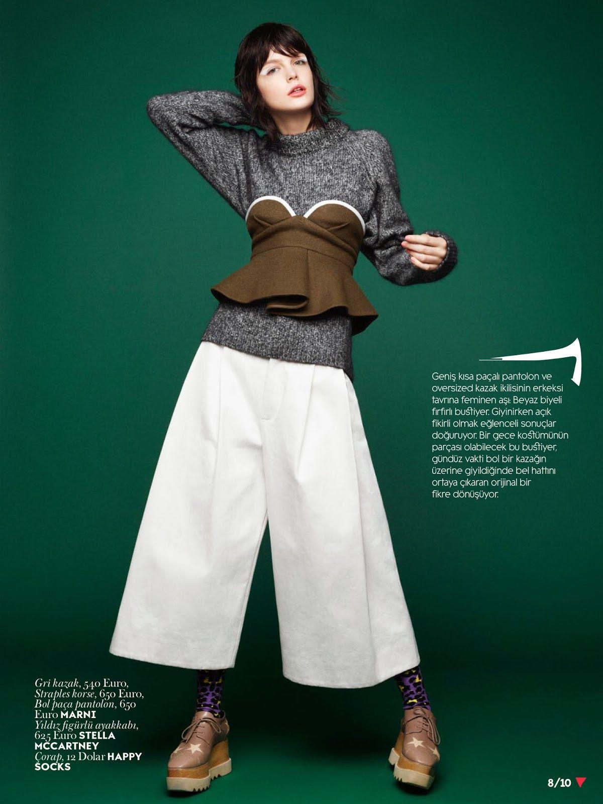 #ZlataMangafic by #HorstDiekgerdes for #VogueTurkey September 2014