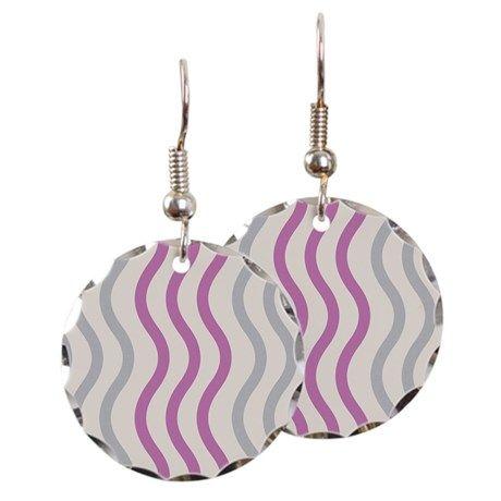 Pink Wave Earrings #wave