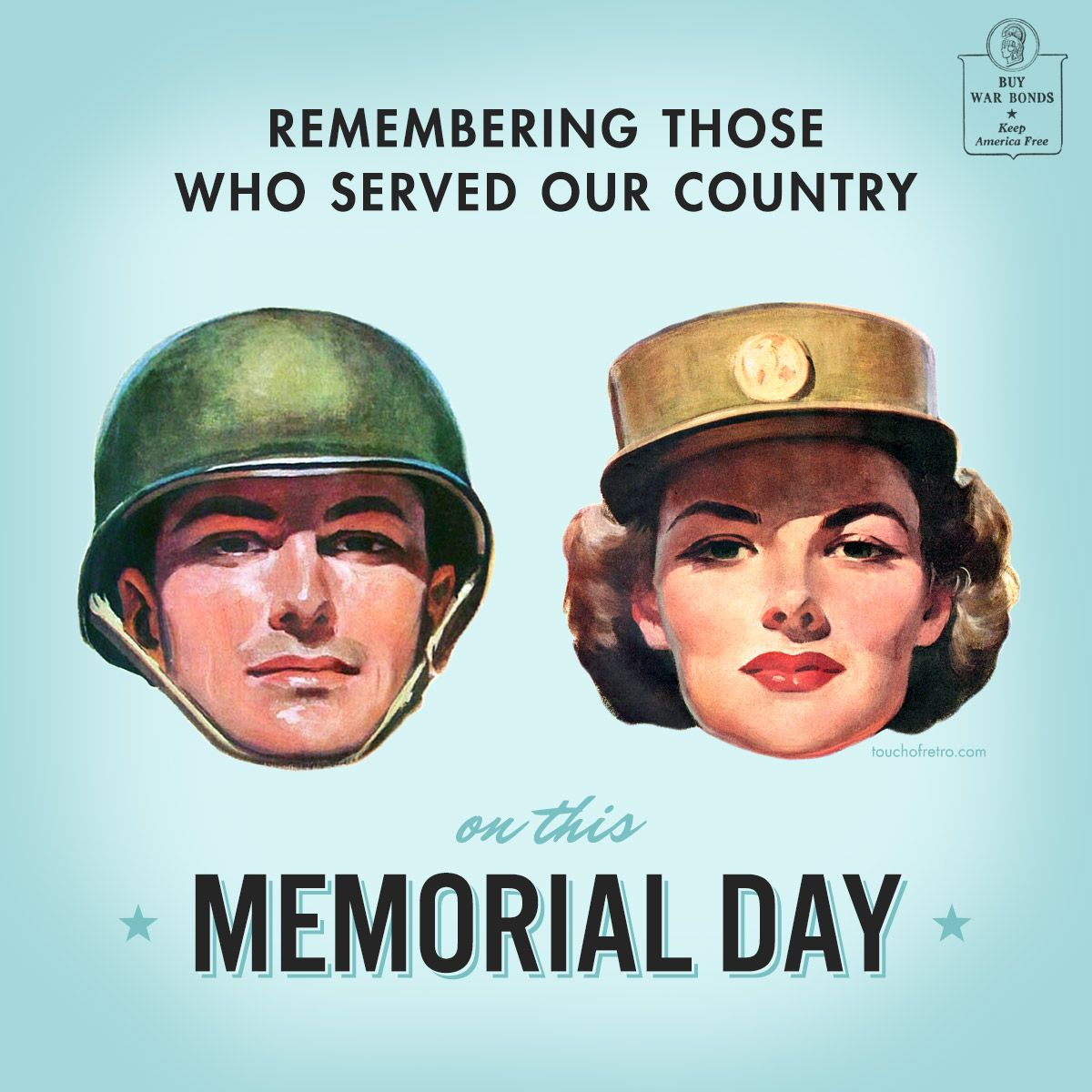 1950s memorial day images | ... our country on this Memorial Day.(Illustrations by Bradshaw Crandell