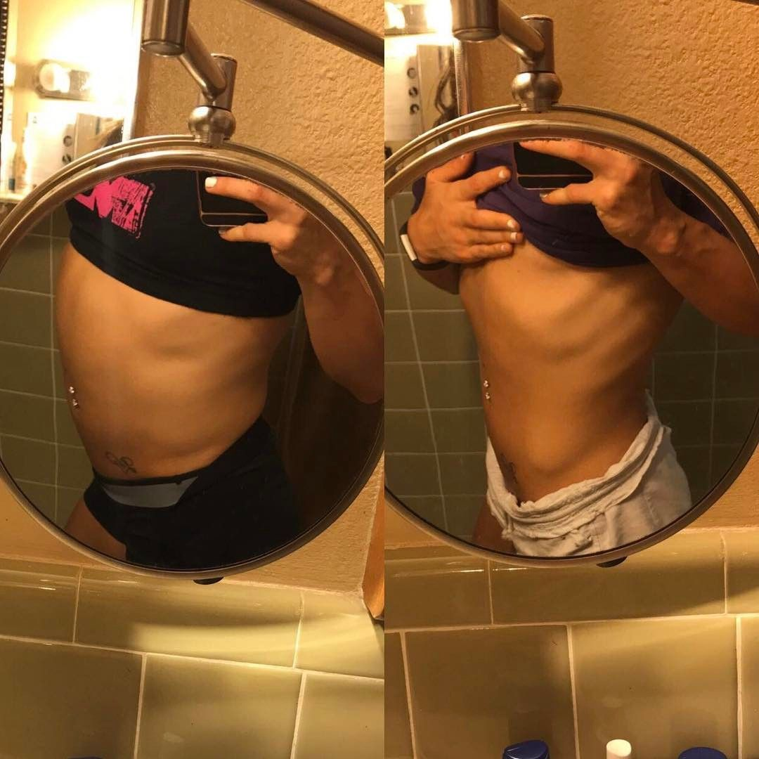 12 hour transformation i make daily 🤔 left is before bed. full of