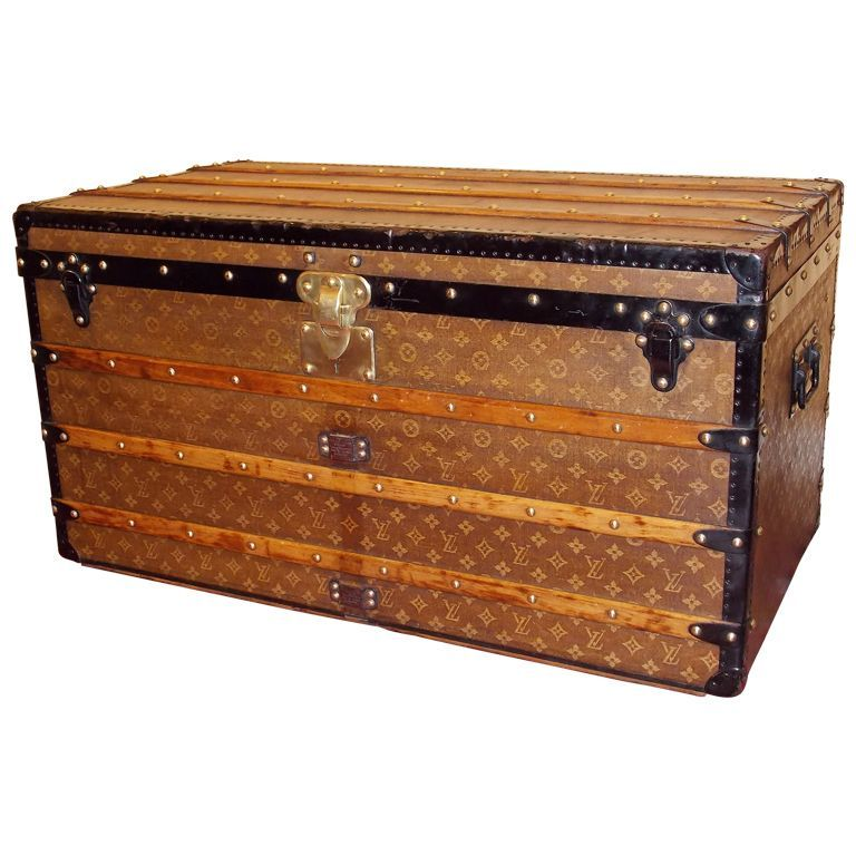 19th c. Louis Vitton Trunk For its age and its purpose; this piece is in amazing condition