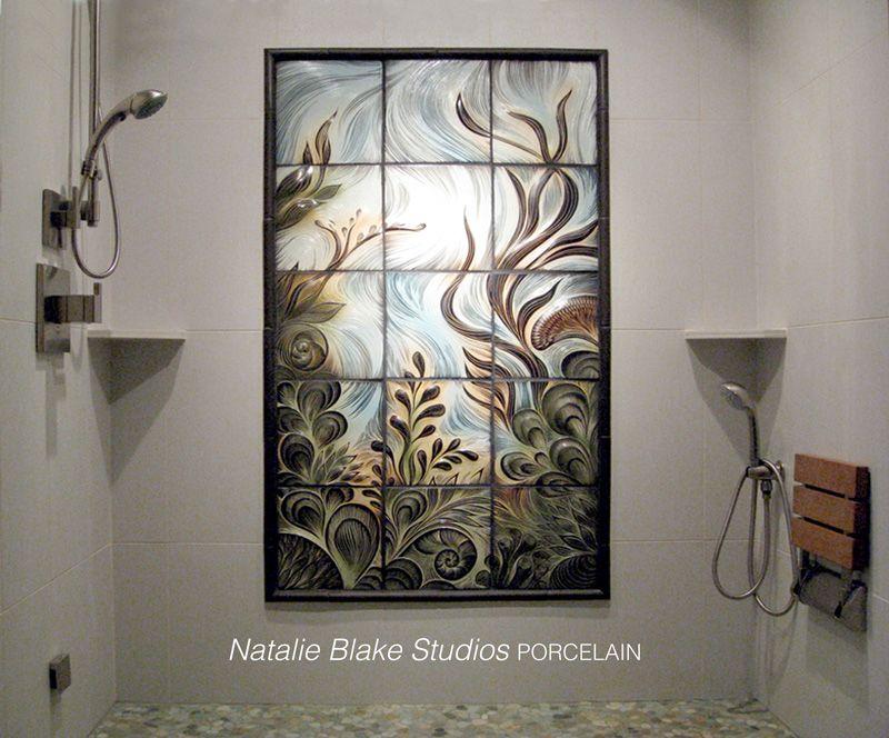 Handmade Porcelain Tiles By Natalie Blake Studios Brattleboro Vermont