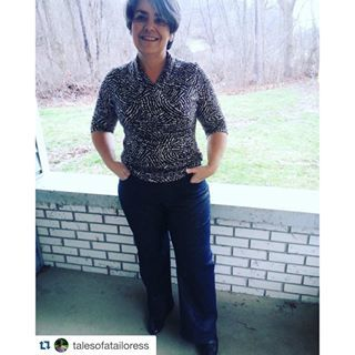 You look great Judy! #Repost @talesofatailoress with @repostapp. ・・・ Perfect fit for the #lianajeans from @itchtostitch patterns. Thank you Kennis, pattern is amazing! #sewing #jeans #