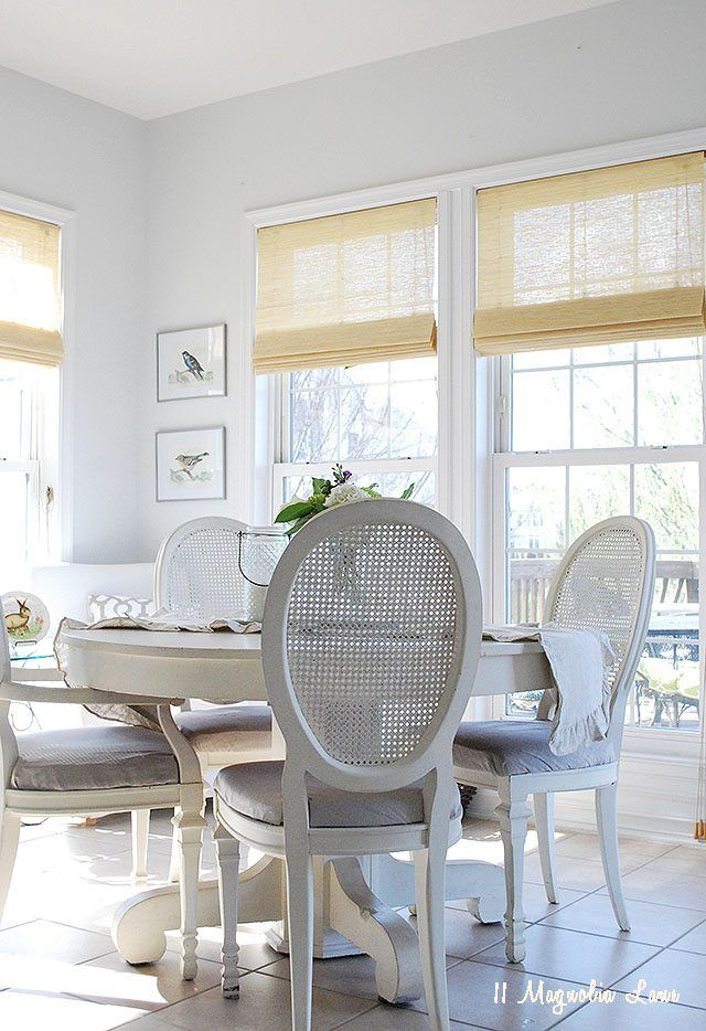 Neutral and bright spring decor ideas