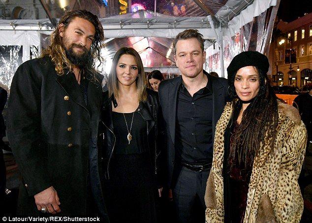 Lisa Bonet 49 And Her Much Taller Husband Jason Momoa 37