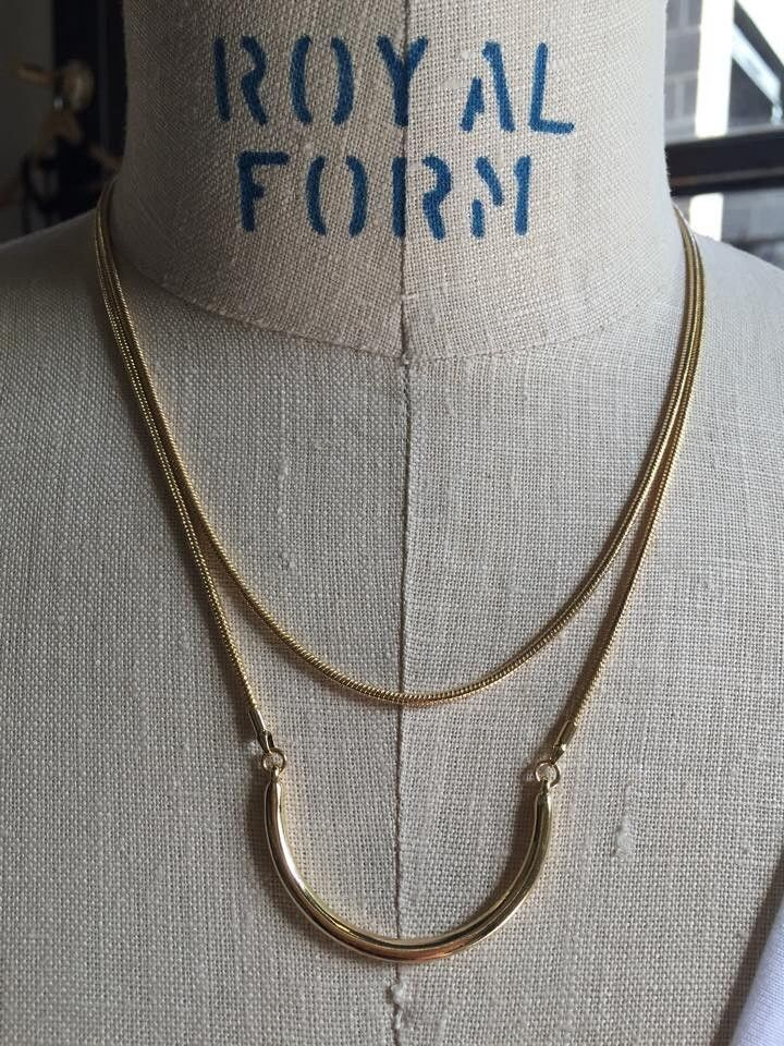 Girly Snake Chain Layered Necklace